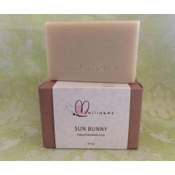 Natural soap with chamomile extract, for dry, sensitive and allergic skin, babies, moisturizing