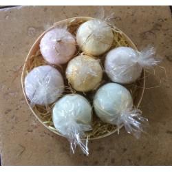 Natural handmade bath bombs