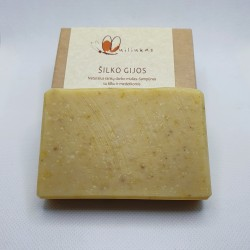 Natural shampoo bar with calendula and Tussah silk