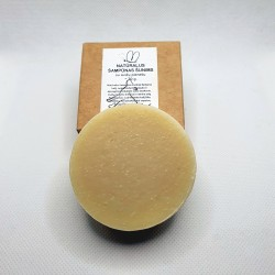 Natural shampoo bar for dogs, enriched with oat milk