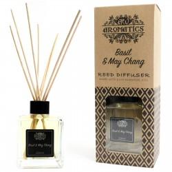 Basil Basil & May Chang Essential Oil Reed Diffuser